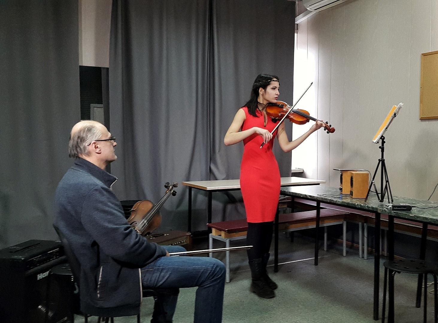 Обучение игре на скрипке для взрослых